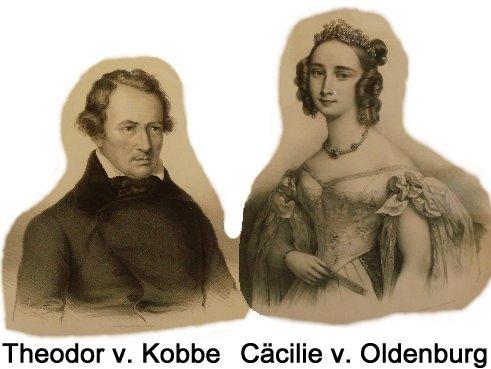 Theodor v. Kobbe und Cäcilie v. Oldenburg