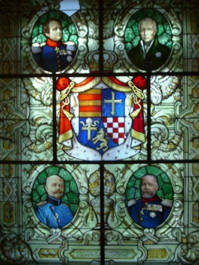 Wappen-Mosaik